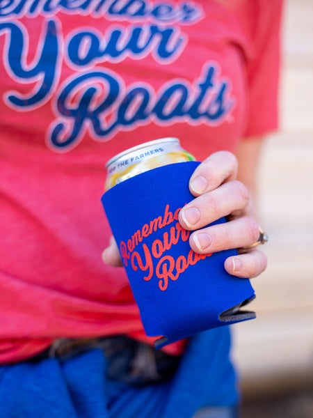 Remember your Roots Koozie