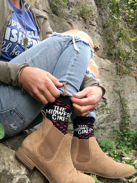 The MWG® Cozy Cabin Sock