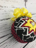 Chicken Rooster Fabric Quilted Farm ornament