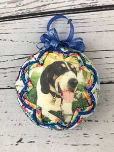 Rainbow Bridge Pet Memory ornament ball