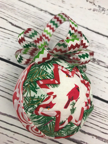 Christmas cardinal in a Tree Ornament
