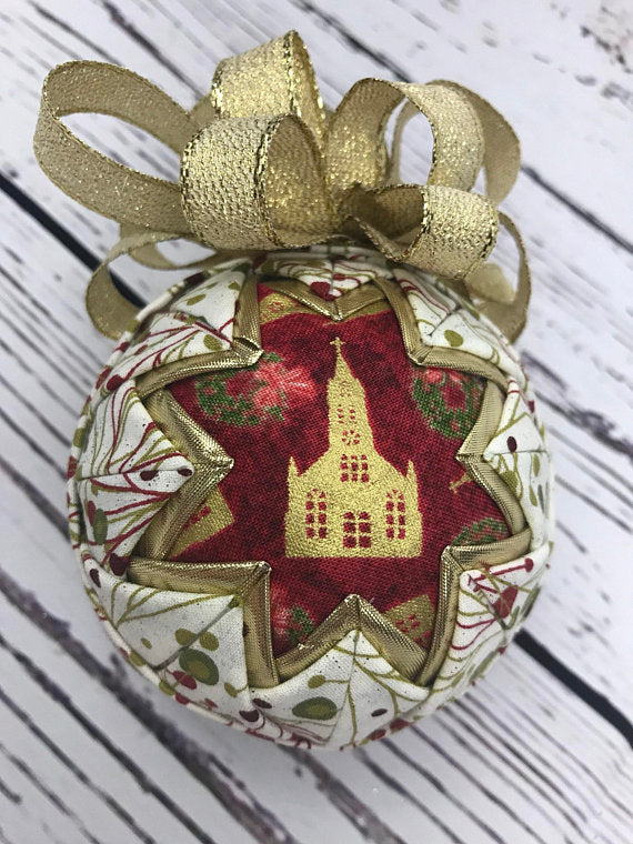 Church Cathedral Fabric Ornament