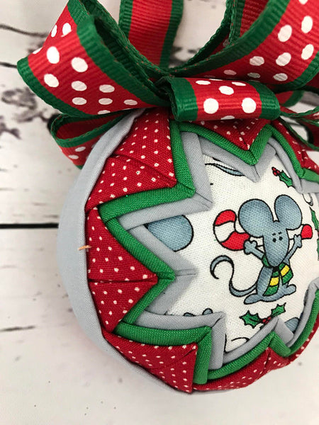 Not A Creature Was Stirring Mouse Ornament