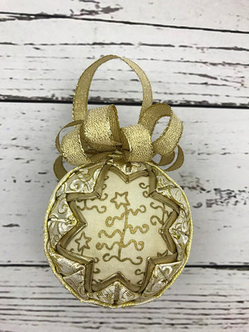 Trees of Gold Christmas Ornament