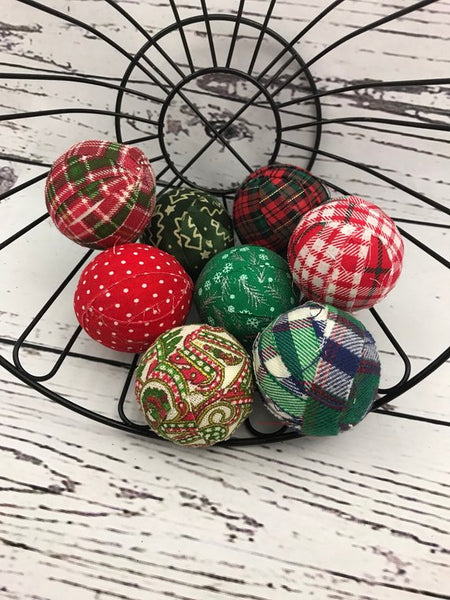 Christmas Balls Bowl Filler set of 8