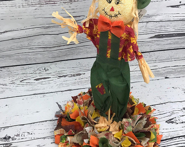 Scarecrow Fall Thanksgiving Centerpiece