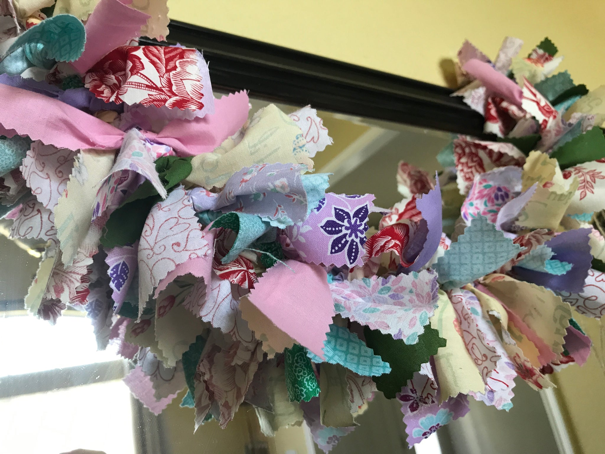 Mothers Day fabric garland