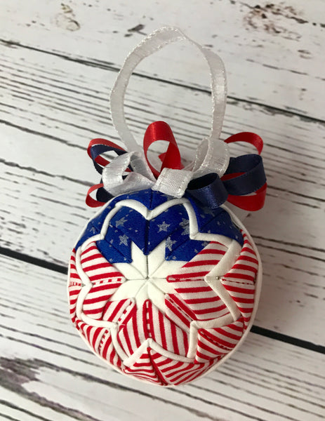 American Flag Ornament