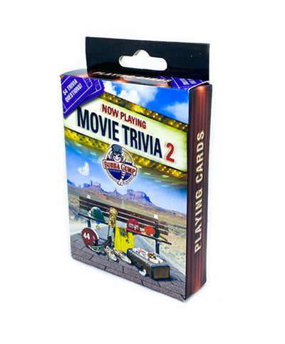 Forrest Gump Movie Trivia Playing Cards