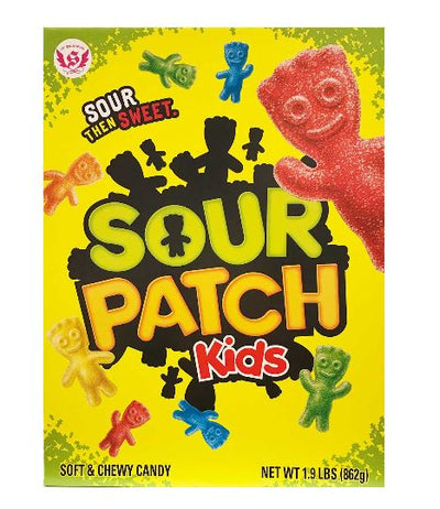 Giant Sour Patch Kids Candy Box