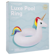 Sunny Days Luxe Pool Ring - Unicorn