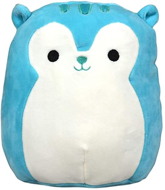 Squishmallow Raccoon Blue