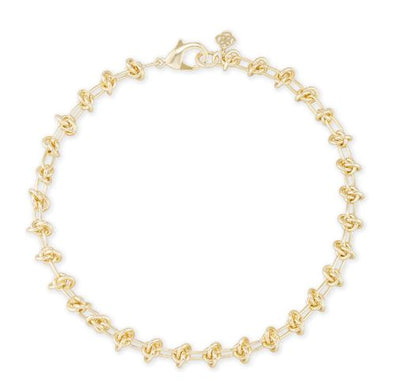 Presleigh Collar Necklace ~ Gold