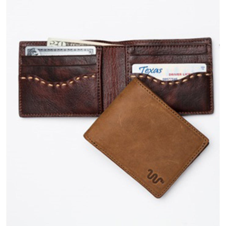 King Ranch Men's Leather Bi-Fold Wallet