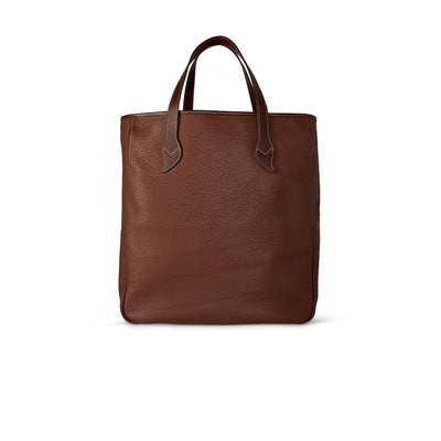 King Ranch Leather Large Shopper Tote