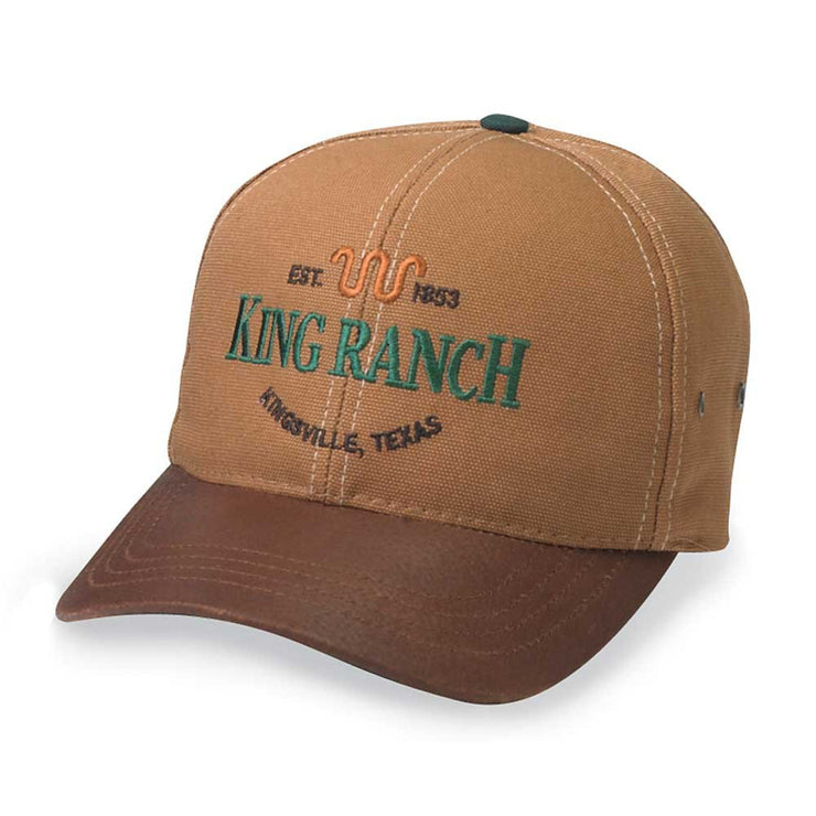 King Ranch Brown Duck Cap