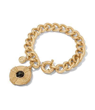 Spartina Medallion Bracelet Pyrite Gold