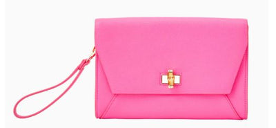 Lilly Pulitzer Cliona Clutch ~ Prosecco Pink