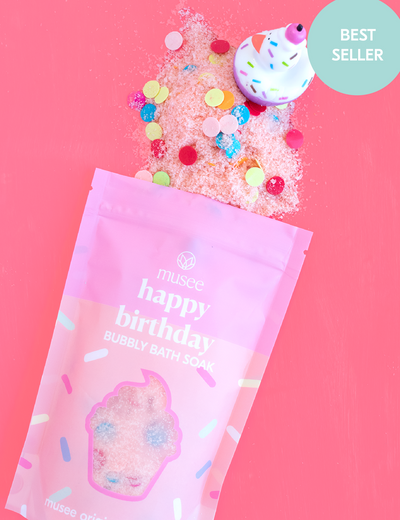 Musee Happy Birthday ~ Bubbly Bath Salt Soak