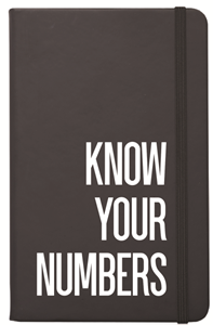 Know Your Numbers Notebook