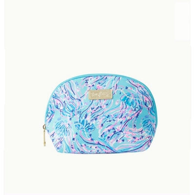 Lilly Pulitzer Eisley Pouch ~ Bayside Blue Under the Moon