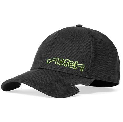 Notch Classic Fitted Hat ~ Black/Neon