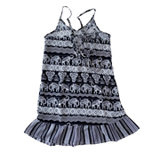 Girls Mix Print Tiered Dress Mommy & Me Series