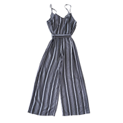 Ladies Jumpsuit with Stripes Mommy & Me Series