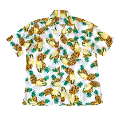 MEN'S TROPICAL PINEAPPLE CAMP SHIRT
