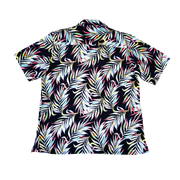 NEON PALM MEN'S CAMP SHIRT