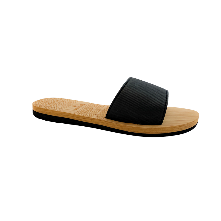 SIMPLE LADIES SLIDES BLACK OR WHITE