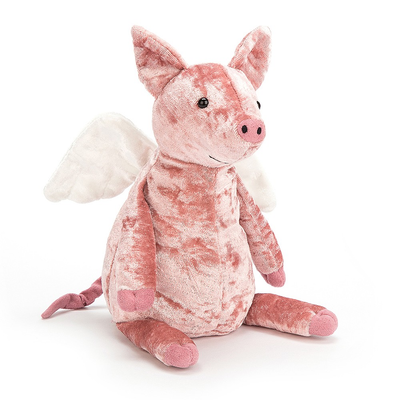 Jellycat Piggy Might Fly