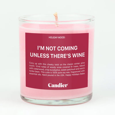 Ryan Porter Not Coming Unless Wine Candle