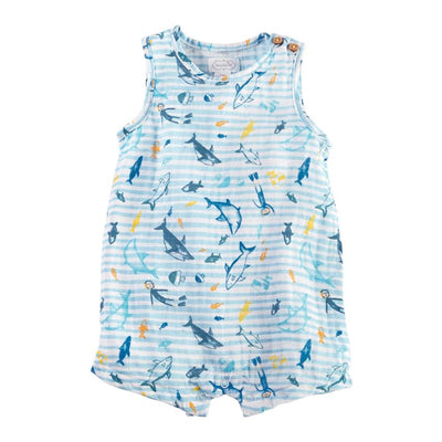 Muslin Cotton Shark Shortall