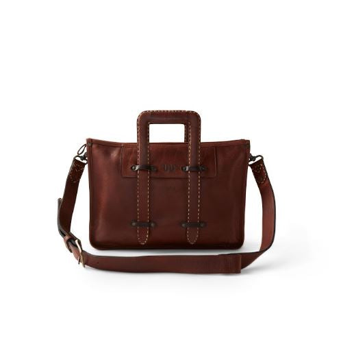 King Ranch Saddle Stitch Leather Attache
