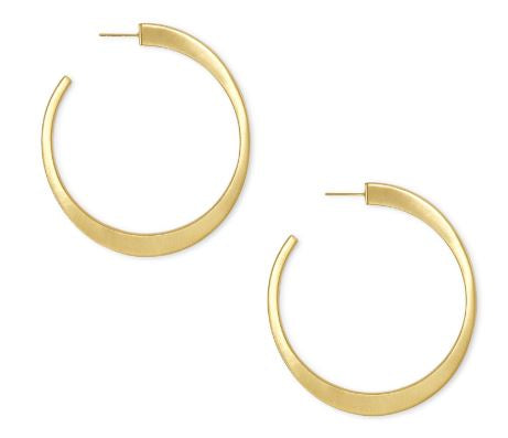 Avi Hoop Earrings ~ Gold