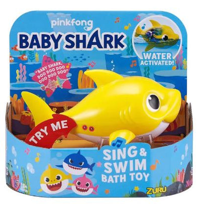 Baby Shark Robotic Bath Toy - Yellow