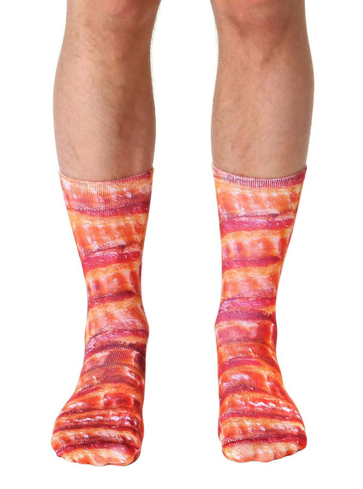 Living Royal Bacon Crew Socks