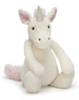 "Jellycat 12"" Bashful Unicorn"
