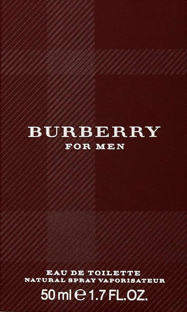 Burberry Classic Men EDT Spray 1.7 oz. Cologne