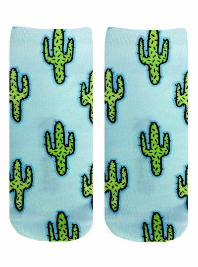 Living Royal Cactus Ankle Socks