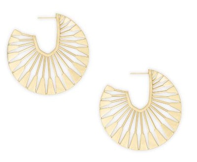 Deanne Hoop Earrings ~ Gold