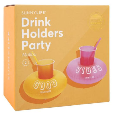 Sunny Life Inflatable Drink Holder - Malibu Party