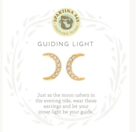 Spartina Sea La Vie Guiding Light Stud Earrings ~ Gold