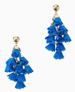 Lilly Pulitzer Hey Bouquet Earrings ~ Bennet Blue