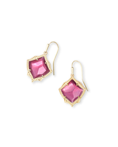 Kyrie Earring - Gold Berry Illusion