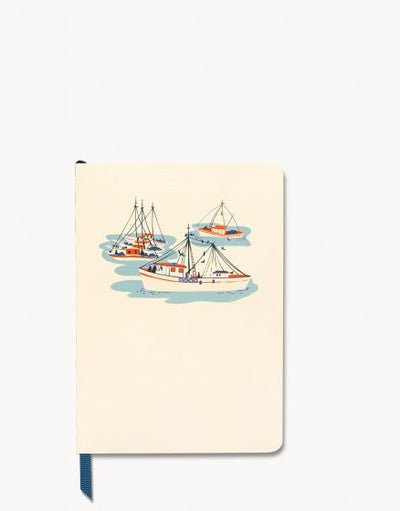 Spartina Daise Marina Ruled Notebook