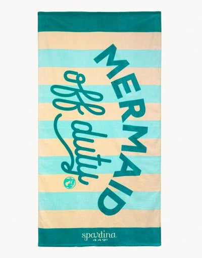 Spartina Mermaid Off Duty Beach Towel