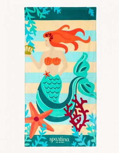 Spartina Mermaid Stripe Towel