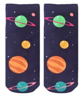 Living Royal Planets Ankle Socks